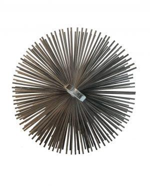 Schoorsteenveeg borstel staal M12