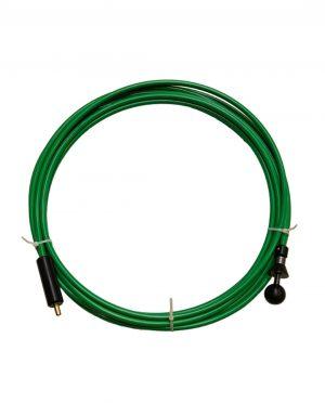 Flexibele as 8mm kern, M12 borstelaansluiting